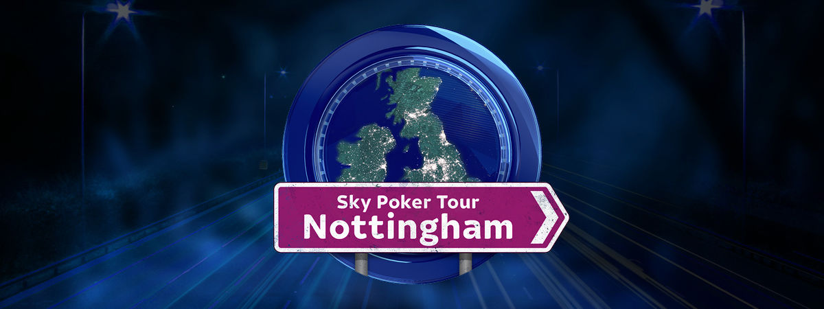 Sky Poker Tour at Alea Nottingham