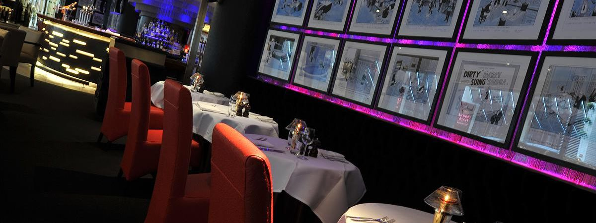 Marco Pierre White dining area
